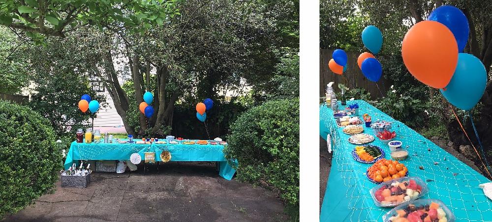 Kids Birthday Party Decor - Under the Sea Birthday Party