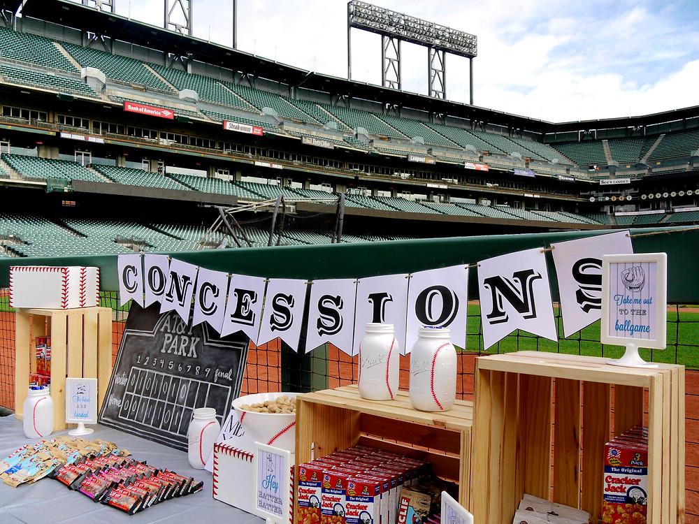Baseball Party Decor - Baseball Decorations
