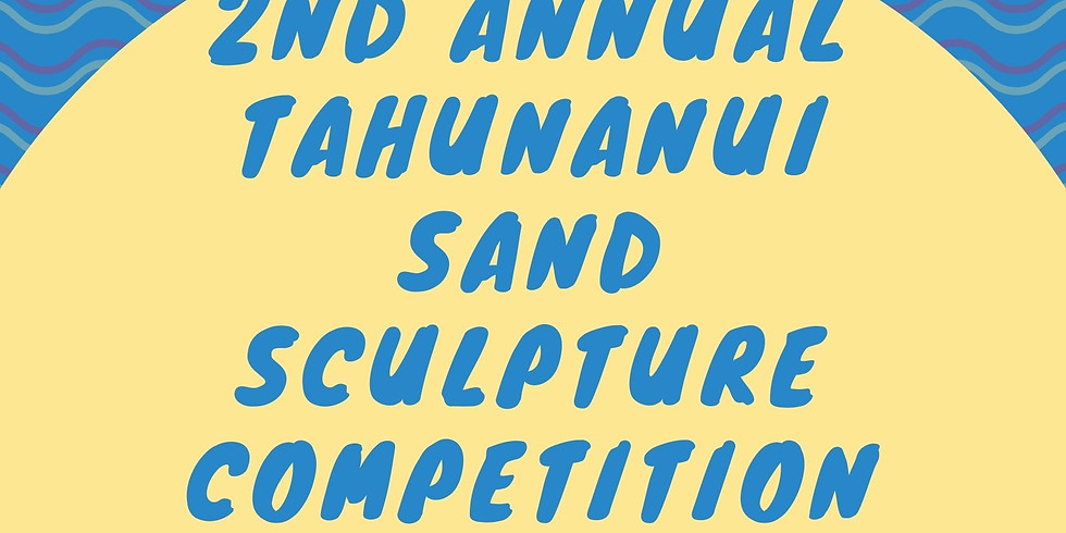 2nd annual Tahunanui sand sculpture competition and BBQ