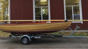 Ett enklare båtliv med vår dagseglare / Helpompaa veneilyä päiväpurrella.