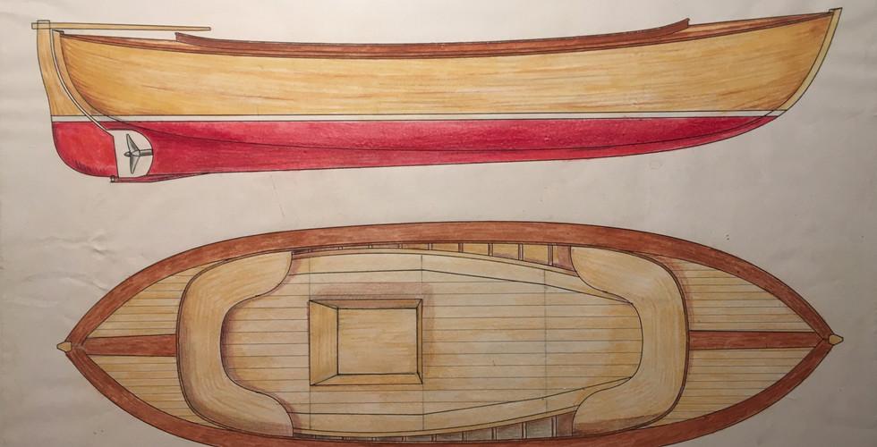 JB-snipa / fiskari / leisure boat