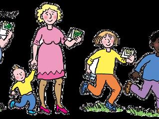 Valores especiais para crianças de até 9 anos nas categorias acompanhadas