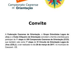 1a. etapa do XIII CCO / IV COLJ