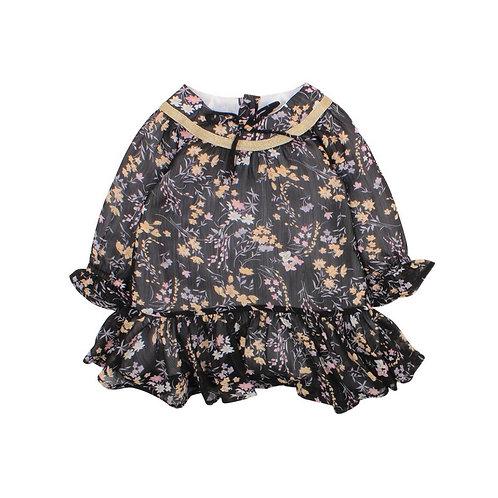 Fancy Print Dress