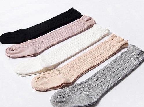 Sienna Knee High Frill Socks