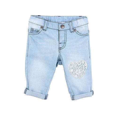 Layla Heart Patch Jeans