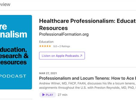 Professionalism and Locum Tenens