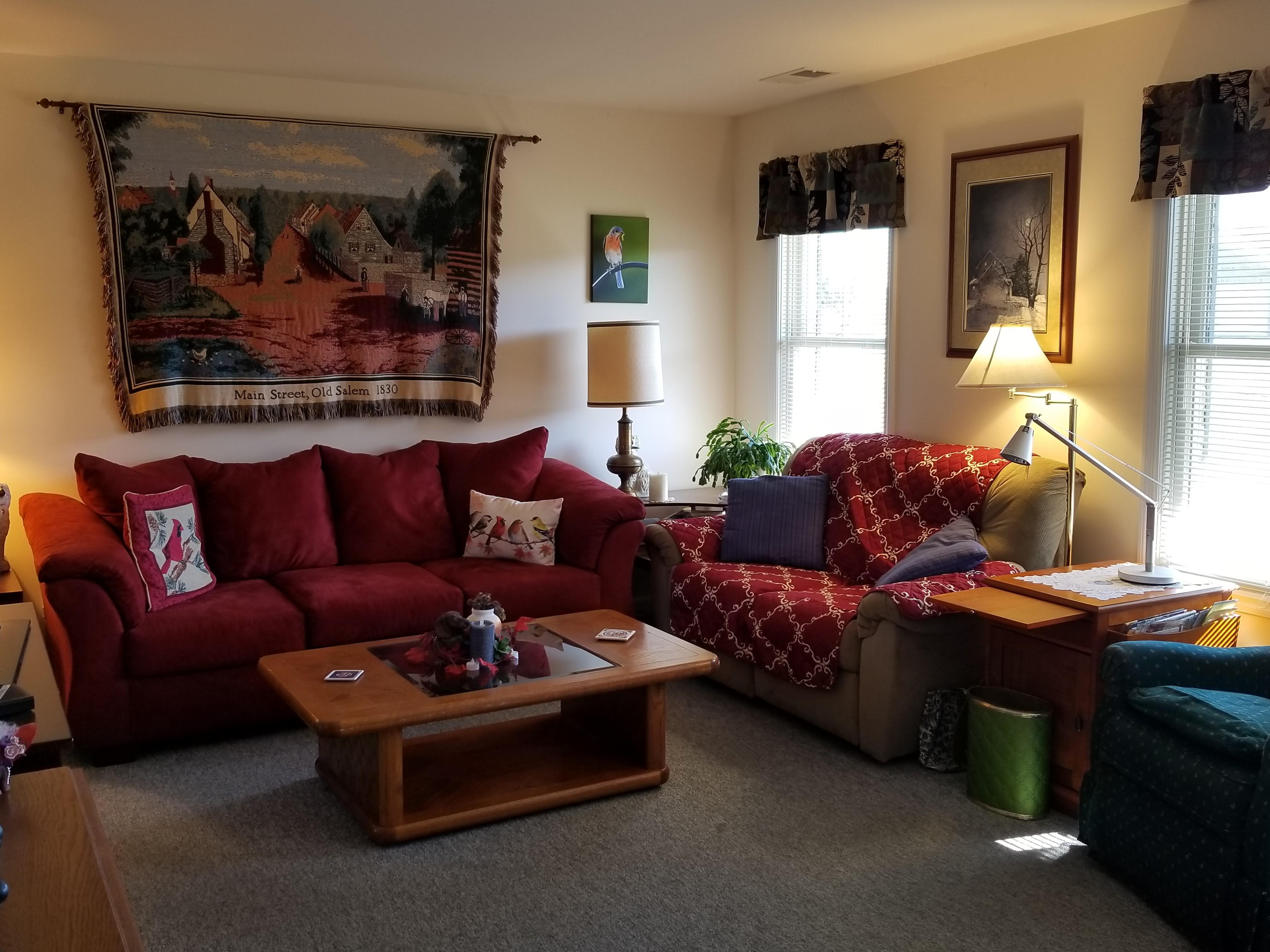 single living room
