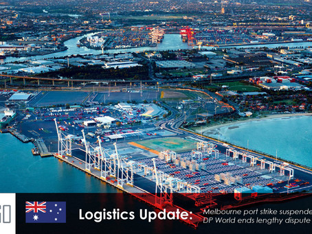 Melbourne port strike suspended, while DP World ends lengthy dispute with union