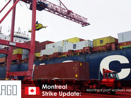 Strike Looms in Montreal Port Standoff Over Worker Contracts