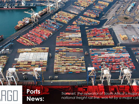 South African ports crippled by cyber attack