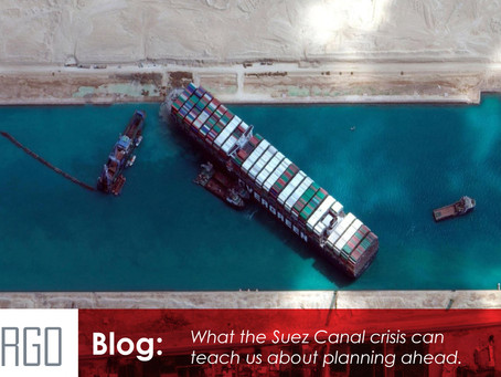 What the Suez Canal crisis can teach us about planning ahead.