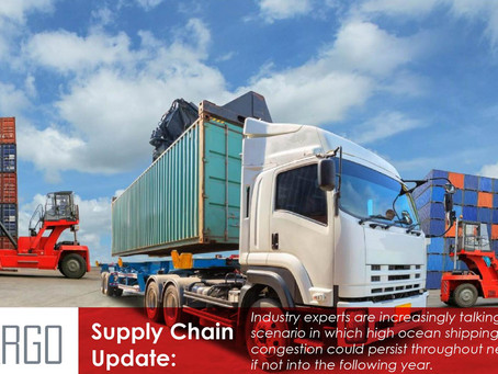 How supply chain chaos and sky-high costs could last until 2023