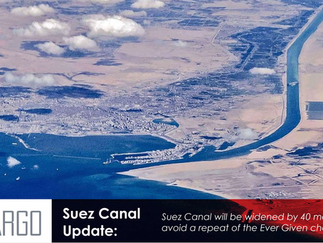 Suez Canal digs in to extend double lane and deepen southern stretch