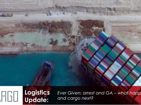 Ever Given: arrest and GA – what happens to vessel and cargo next?