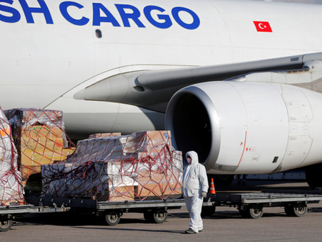 Air freight rates on the up again, driven by more demand for less capacity