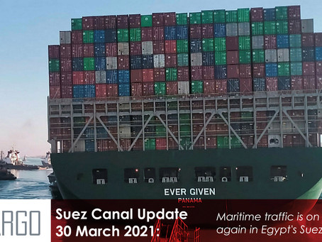 Suez Canal traffic finally moving again after stranded Ever Given ship refloated
