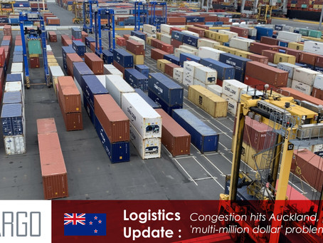 Congestion hits Auckland, posing a 'multi-million dollar' problem for shippers