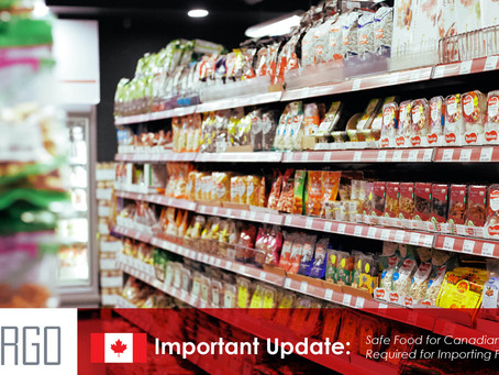 Safe Food for Canadians Licence Required for Importing Food into Canada