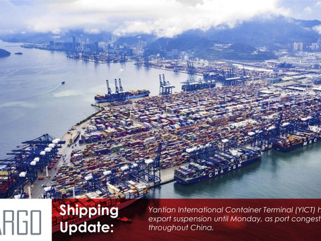 Container line schedules take another hit as port congestion in China spreads