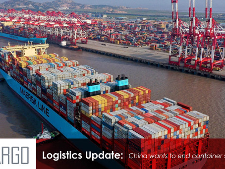 China wants to end container shortages