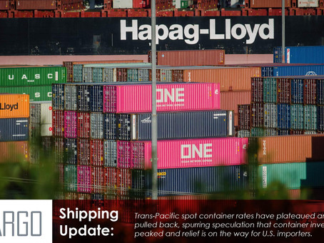 China port congestion falls sharply, trans-Pacific shipping rates retreat