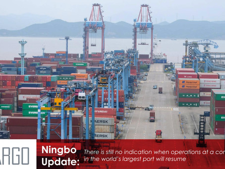 All eyes on Ningbo as global supply chains await news of terminal's reopening