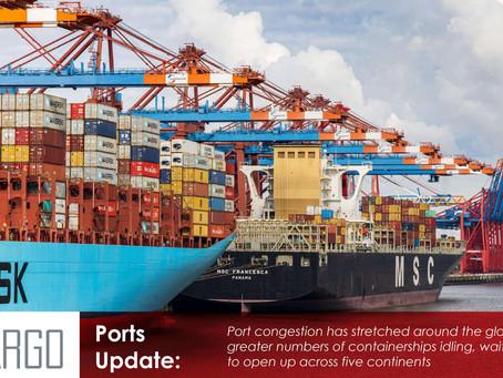 Global liner congestion worsens, 116 ports report disruption