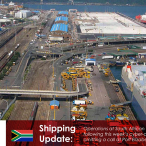 Transnet Navis back online after cyber-attack, but Maersk omits port call