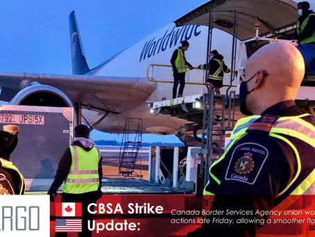 Canada Border Services Agency worker strike ends, promising a smoother flow to border traffic