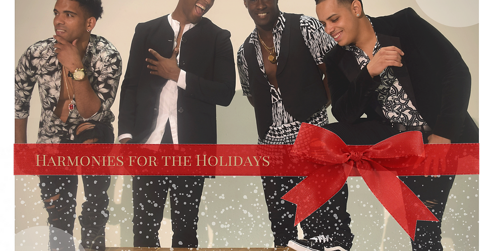 "Autographed ""Harmonies for The Holidays"""