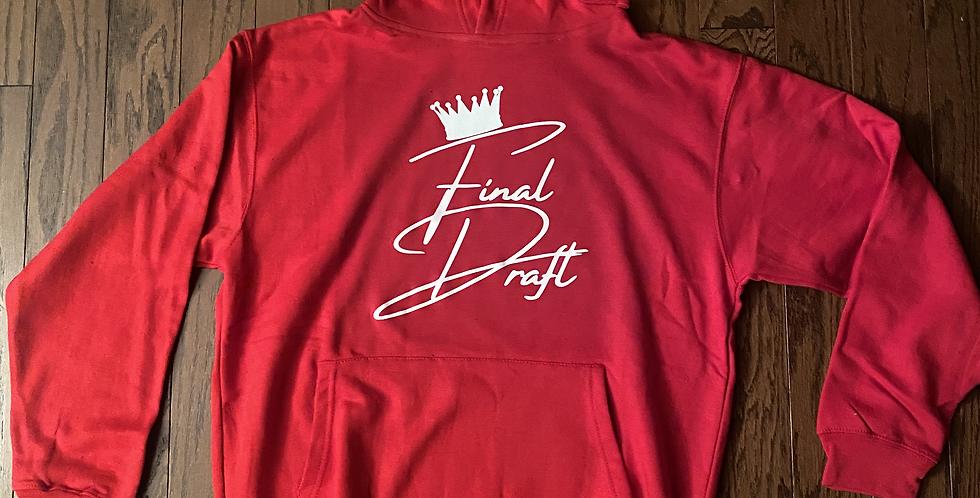 Final Draft Red Crown Hoodie