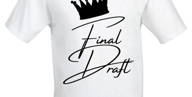Final Draft Crown Tee