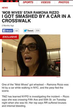 Ramona Rizzo on TMZ