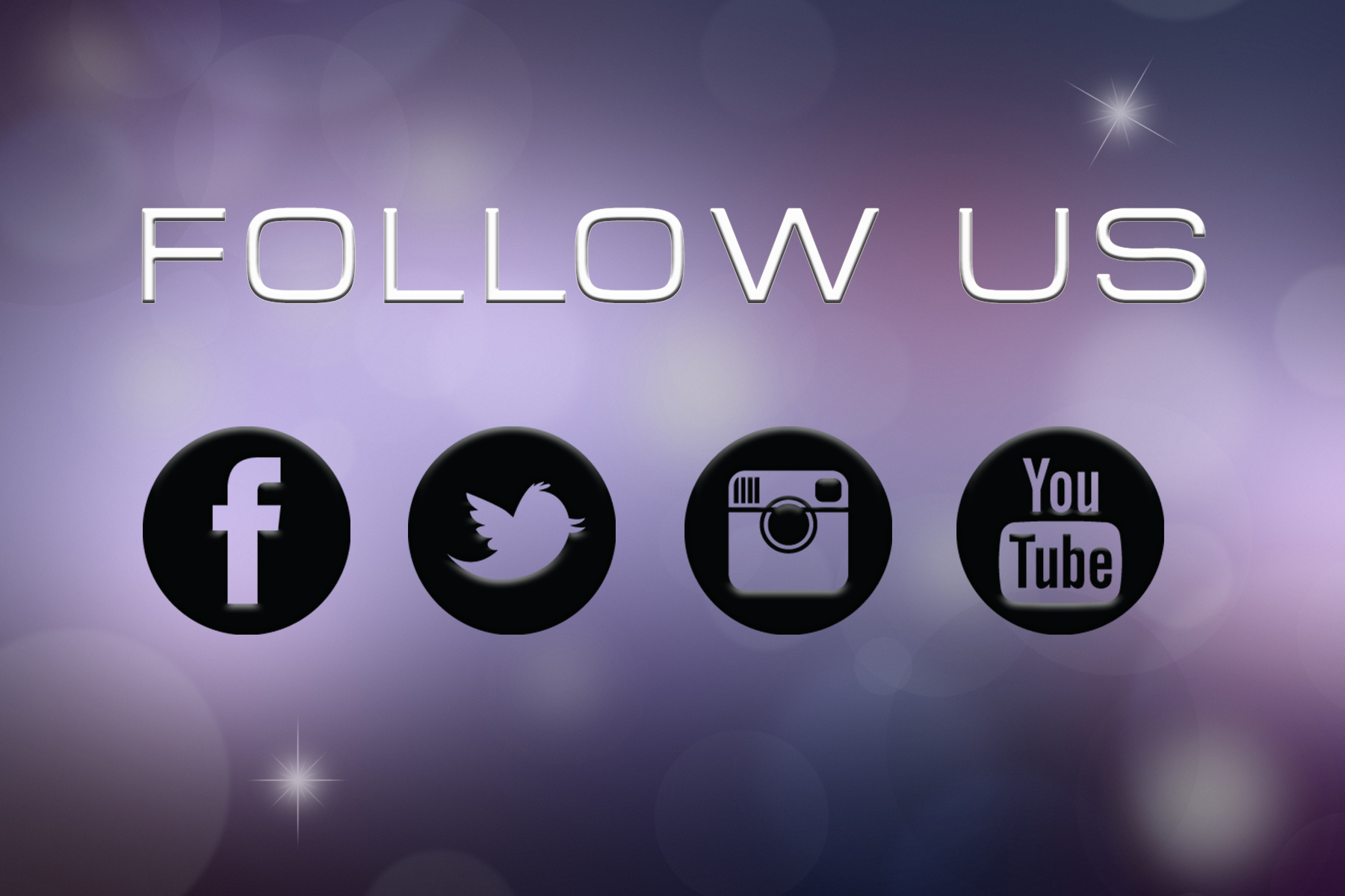 Follow us on Social Networks