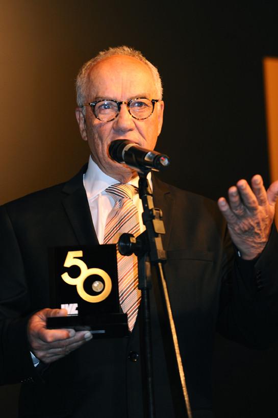 Roberto Muylaert, homenageado no jantar de 50 anos do IVC. Foto: Garrido Marketing