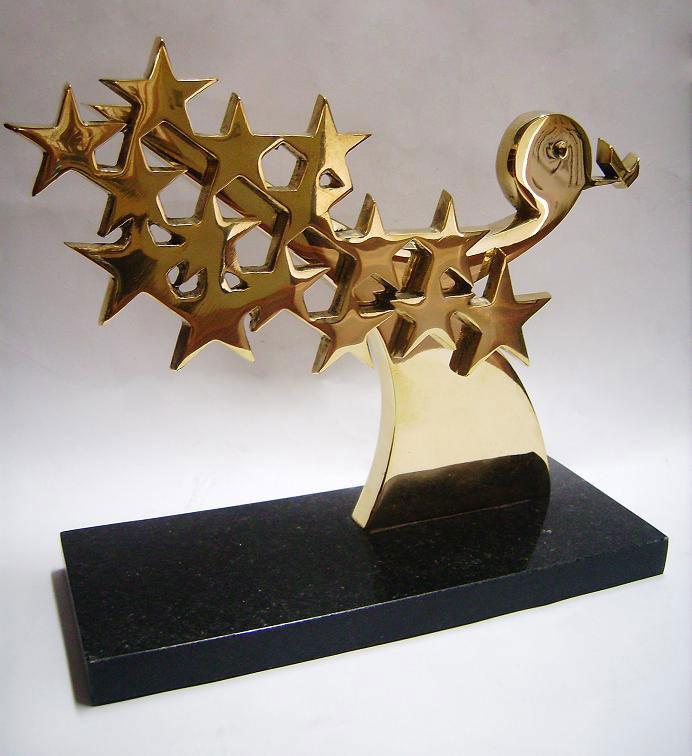 troféu, prêmio cliente sa televendas