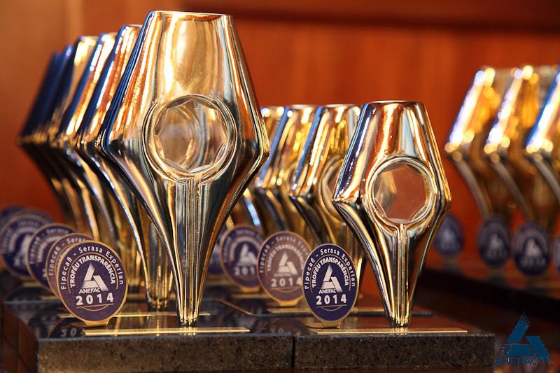 troféu, 2014.  foto: divulgação