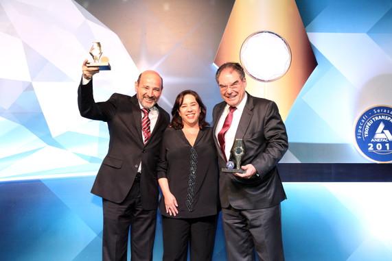 cerimônia de premiação, 2014. foto: divulgação