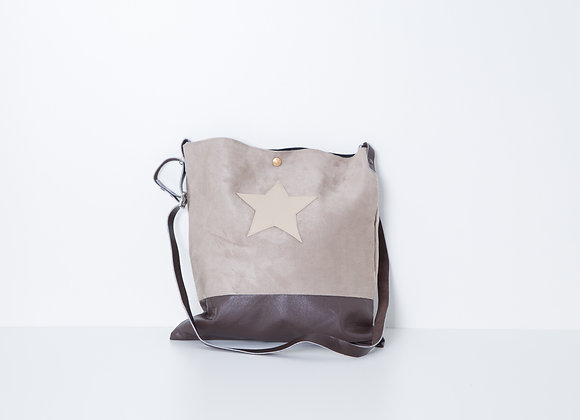 Besace Light Brown Star