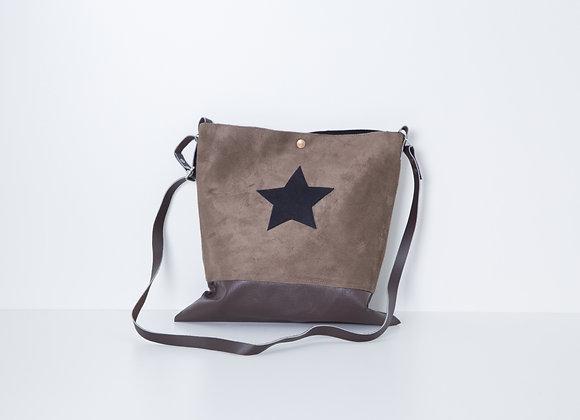 Besace Brown Black Star