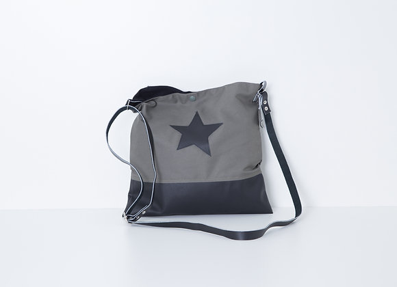 Besace Grey Black Star