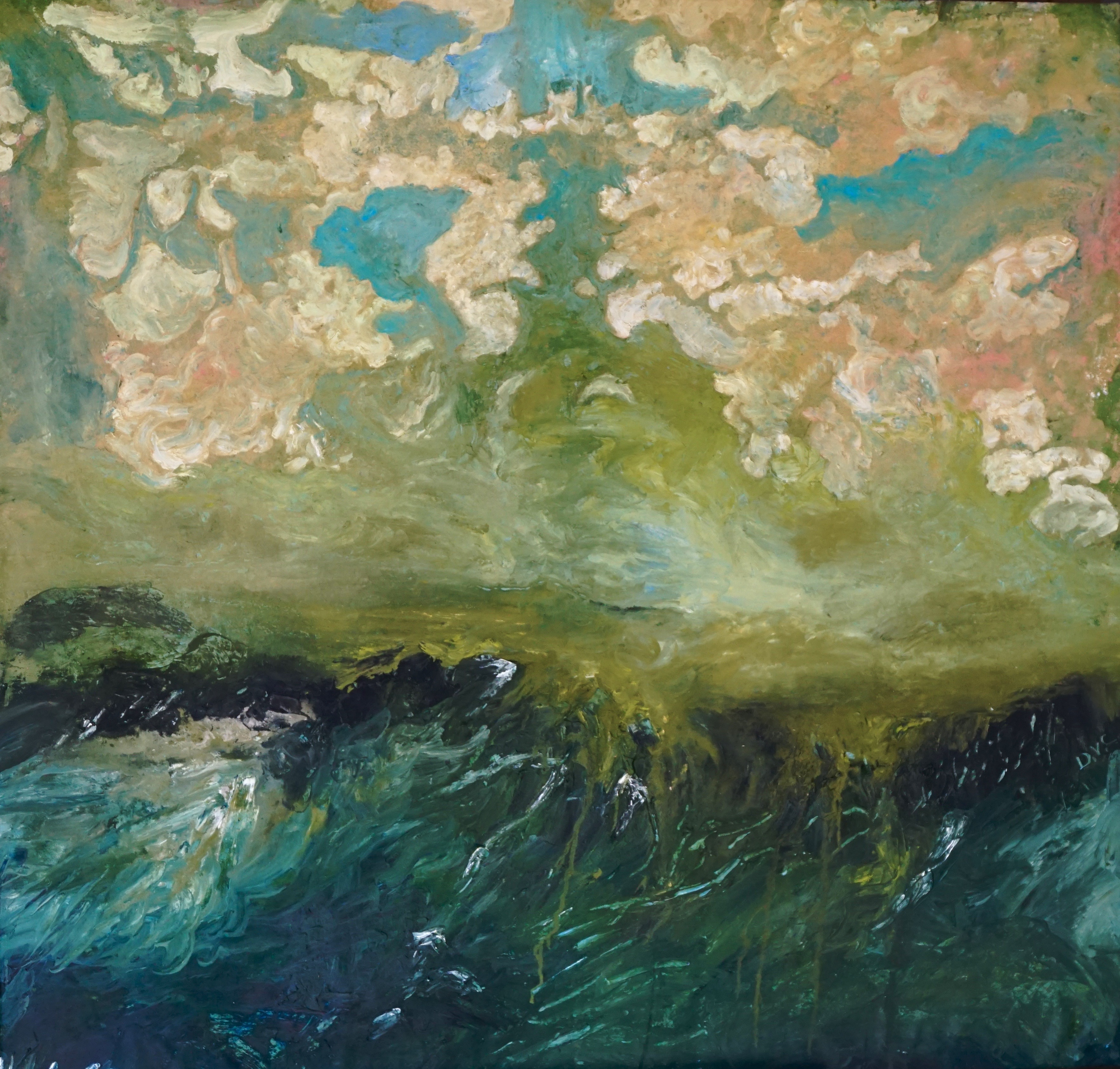 Inner Landsape (Green) - Dirk Caluwaerts