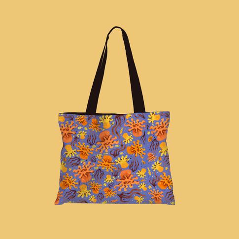 Anemone Like You Bag-Blue