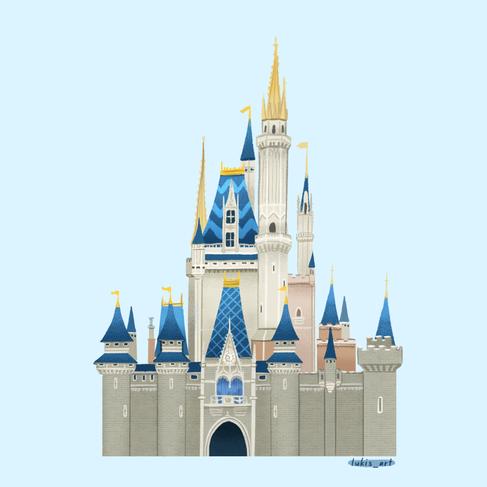 Tokyo Disney Castle