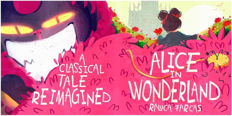 Alice in Wonderland Reimagined- Cover