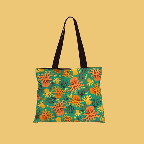 Anemone Like You Bag-Green