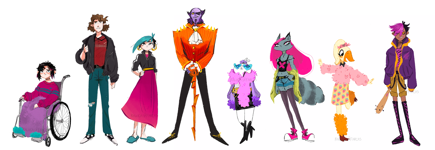 All Kid Nemesis Characters!