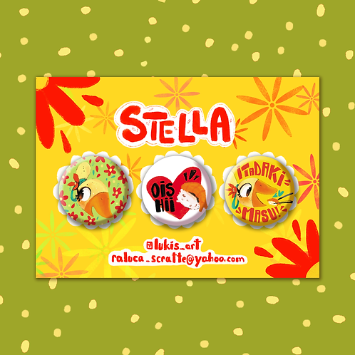 Stella Badge Collection