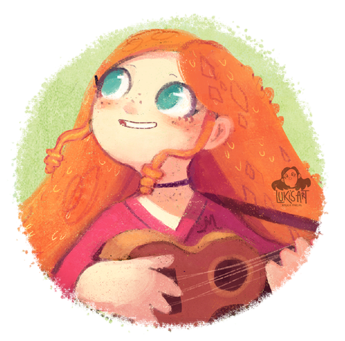Molly and her Ukulele